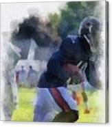 Chicago Bears Wr Micheal Spurlock Training Camp 2014 04 Pa 01 Canvas Print