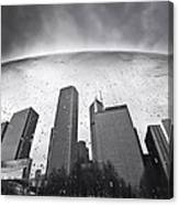 Chicago Black And White Photography Canvas Print
