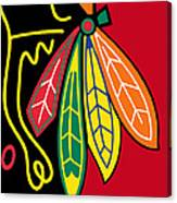 Chicago Blackhawks 2 Canvas Print