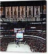 Chicago Blackhawks United Center Panorama 03 Canvas Print