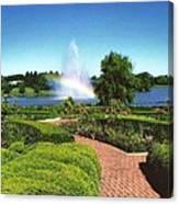 Chicago Botanic Garden Canvas Print