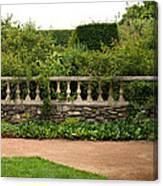 Chicago Botanic Garden Scene Canvas Print