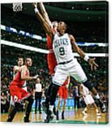 Chicago Bulls V Boston Celtics Canvas Print
