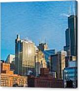 Chicago Cityscape During The Day Canvas Print