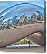 Chicago Cloud Gate Canvas Print