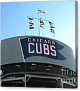 Chicago Cubs Signage Canvas Print