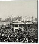Chicago Day At Worlds Fair Columbian Exposition 1893 Canvas Print