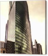 Chicago Facade 333 W Wacker Hdr Canvas Print