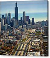 Chicago Highways 06 Canvas Print