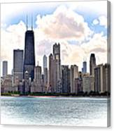 Chicago In The Spotlight Canvas Print