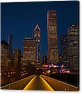 Chicago Lights Canvas Print