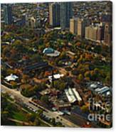 Chicago Lincoln Park Zoo Canvas Print