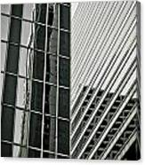 Chicago Lines Canvas Print