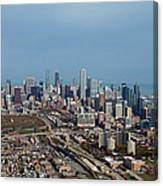 Chicago Looking North 01 Canvas Print