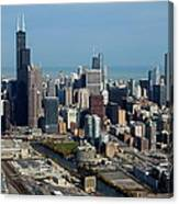 Chicago Looking North 03 Canvas Print