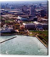 Chicago Museum Park Canvas Print
