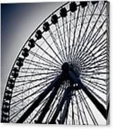 Chicago Navy Pier Ferris Wheel Canvas Print