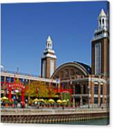 Chicago Navy Pier Headhouse Canvas Print