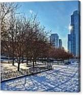 Chicago Park Canvas Print