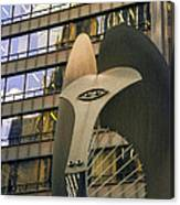 Chicago Picasso Canvas Print
