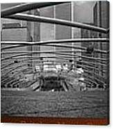 Chicago Pritzker Music Pavillion Sc Triptych 3 Panel Canvas Print