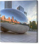 Chicago Reflection Canvas Print