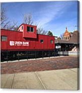 Chicago Rock Island Caboose Canvas Print