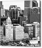 Chicago Skyline Aerial Panorama Photo Canvas Print