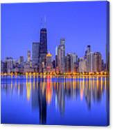 Chicago Skyline Canvas Print