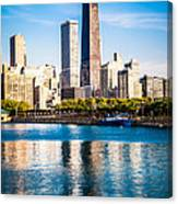 Chicago Skyline Picture With Hancock Building Canvas Print