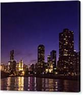 Chicago Skyline Vi Canvas Print