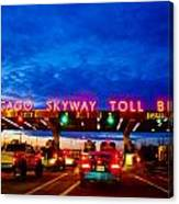 Chicago Skyway Toll Bridge Canvas Print