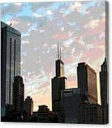 Chicago - South Loop Canvas Print