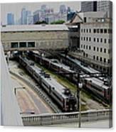 Chicago - South Shore Train Yard Canvas Print