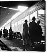 Chicago Train Station Canvas Print