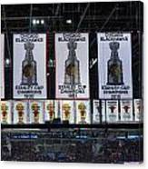 Chicago United Center Banners Canvas Print