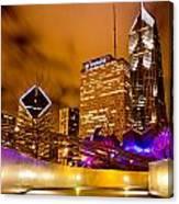 Chicago Walkway Canvas Print