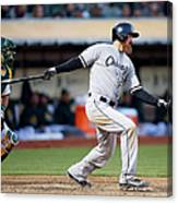 Chicago White Sox V Oakland Athletics Canvas Print