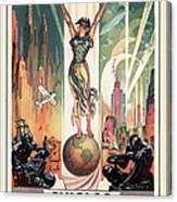Chicago World's Fair 1933 Canvas Print