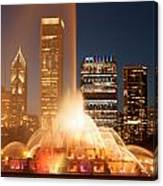 Chicago's Buckingham Fountain Canvas Print