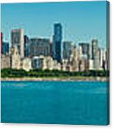 Chicago's Lakefront Panorama Canvas Print