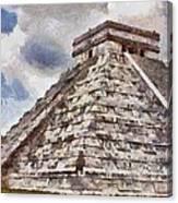 Chichen Itza Canvas Print