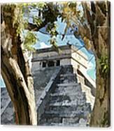 Chichen Itza - Yucatan Mexico Canvas Print