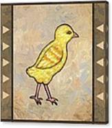 Chick One Canvas Print