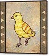 Chick Two Canvas Print