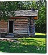 Chickamauga Cabin Canvas Print