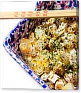 Chicken Cheese Potato Casserole Canvas Print