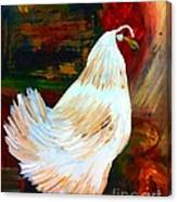 Chicken--yard Bird Impression Canvas Print
