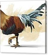 Chickenosaurus, Artwork Canvas Print