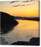 Chickies Rock Sunset 9 Canvas Print